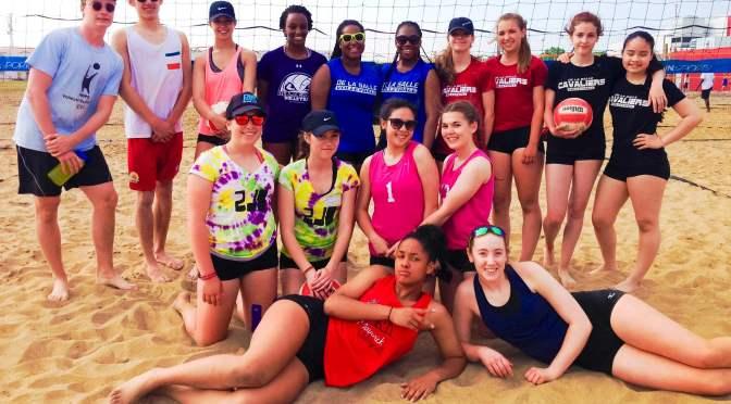 Des médailles d'or pour De La Salle – Volleyball de plage