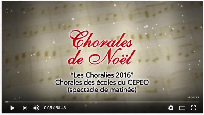 Choralies CEPEO 2016