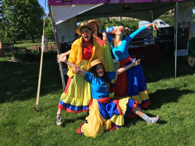 Nos clowns au FFO :)